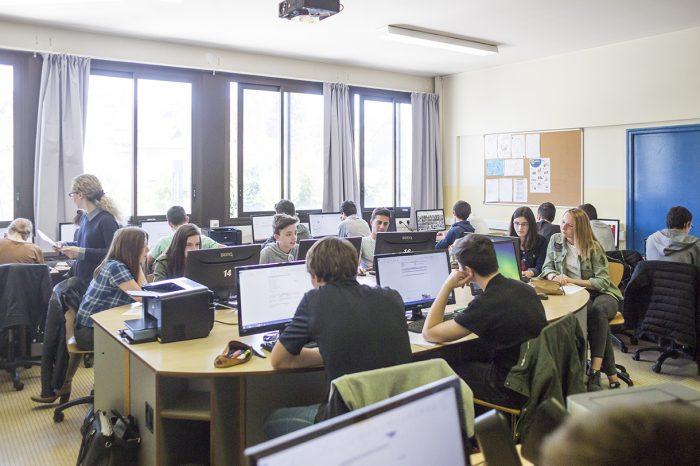 salle de cours informatique lycée de la salle rennes