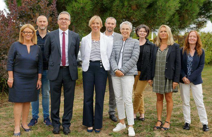 Equipe du conseil de direction du Lycée de La Salle à Rennes